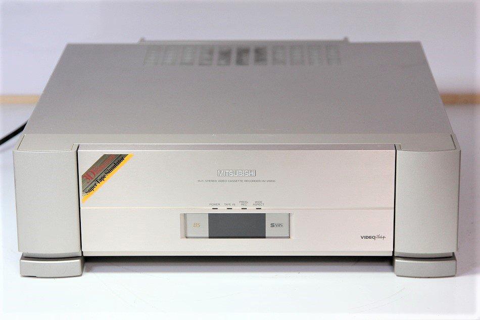MITSUBISHI 三菱 HV-V6000 S-VHSビデオレコーダー【中古品】