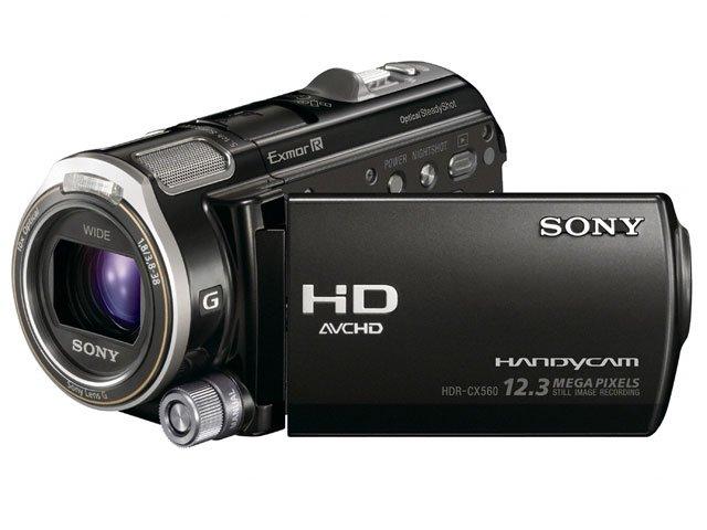 SONY デジタルHDビデオカメラレコーダー CX560V ブラック HDR-CX560V/B 【!中古品!】