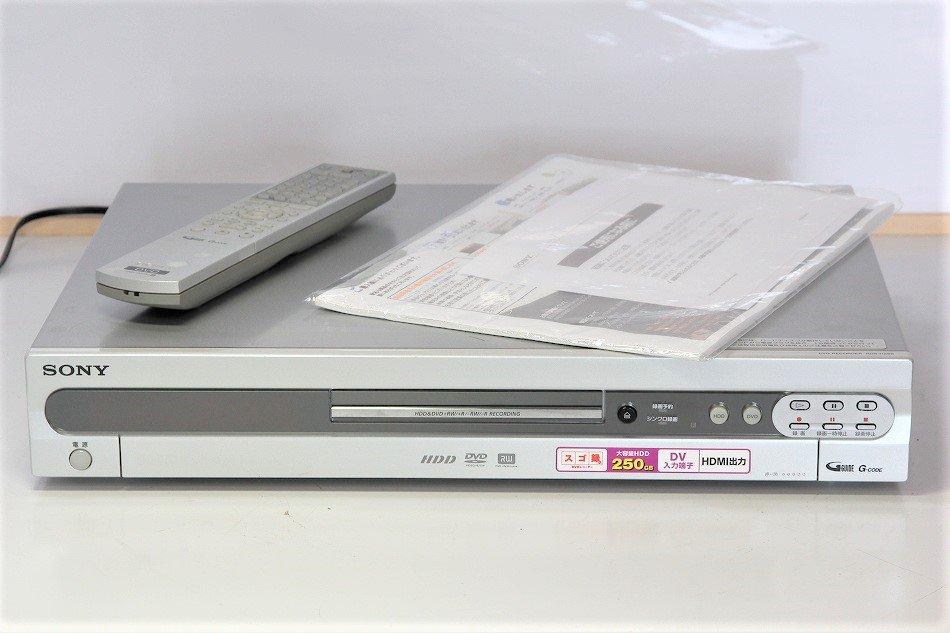 """SONY """"スゴ録"""" RDR-HX90  HDD搭載DVD..."""