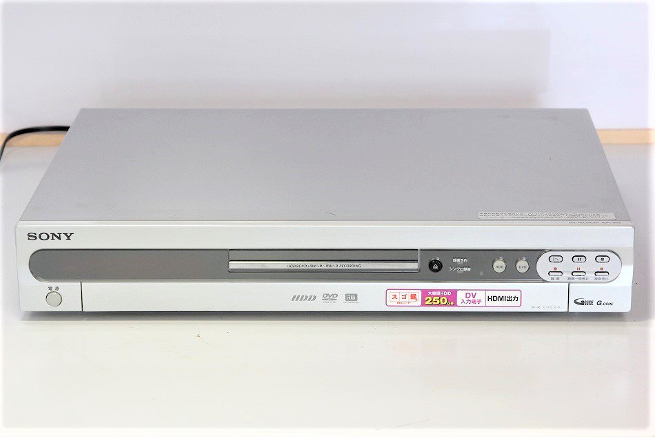 "RDR-HX90|SONY ""スゴ録"" HDD搭載DVDレコーダー|中古品|修理販売 ..."