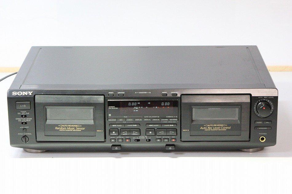 SONY TC-WE725 ツインリバースカセット...