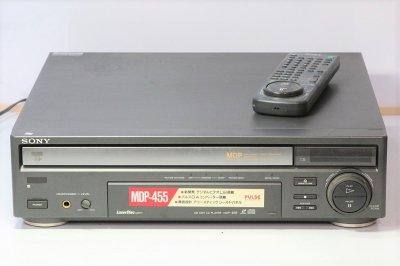 SONY CD/LDプレーヤー MDP-455 【中古整備品】
