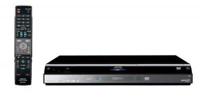 SHARP AQUOS 地上・BS・110度CSデジタルフルハイビジョンレコーダー 500GB DV-ACW75【中古品】