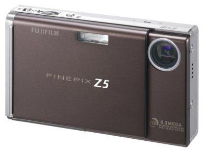 FUJIFILM デジタルカメラ FinePix (ファインピックス) Z5fd ブラウン FX-Z5FDBW【中古品】