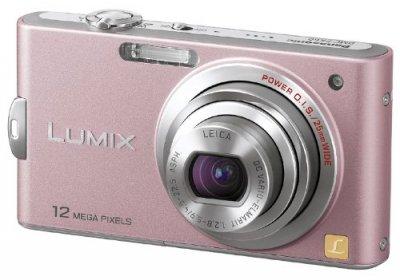 Panasonic デジタルカメラ LUMIX (ルミックス) FX60 スイートピンク DMC-FX60-P【中古品】