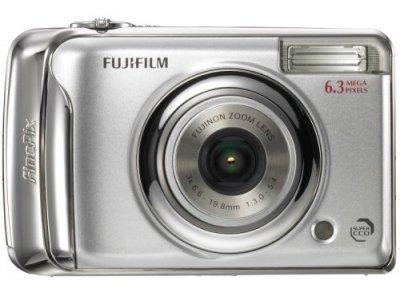 FUJIFILM デジタルカメラ FinePix (ファインピックス) A610 シルバー FX-A610【中古品】