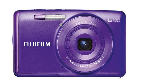 FUJIFILM デジタルカメラ FinePix JX700 光学5倍 パープル F FX-JX700PU【中古品】
