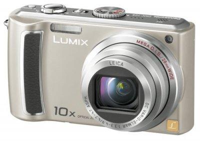Panasonic デジタルカメラ LUMIX (ルミックス) シルバー DMC-TZ5-S【中古品】
