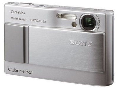 ソニー SONY デジタルカメラ サイバーショット DSC-T10 シルバー DSC-T10【中古品】