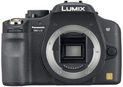 Panasonic デジタル一眼レフカメラ DMC-L10 ボディ ブラック DMC-L10-K【中古品】