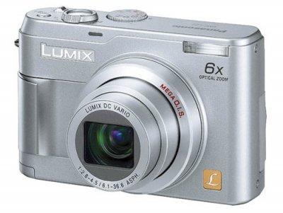 Panasonic DMC-LZ2-S LUMIX デジタルカメラ 500万画素【中古品】
