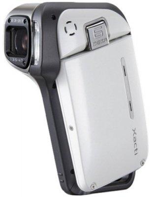 SANYO 防水型デジタルムービーカメラ Xacti (ザクティ)シリーズ (シェルホワイト) DMX-CA65(W)【中古品】
