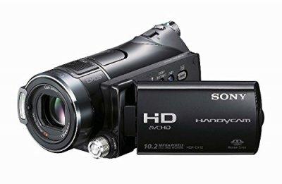 ソニー SONY デジタルハイビジョンビデオカメラレコーダー ハンディカム CX12 HDR-CX12/S【中古品】