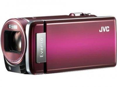JVCケンウッド JVC 32GBハイビジョンメモリームービー トワイライトレッド GZ-HM880-R【中古品】