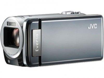 JVCケンウッド JVC 64GBハイビジョンメモリームービー サンライトシルバー GZ-HM890-S【中古品】