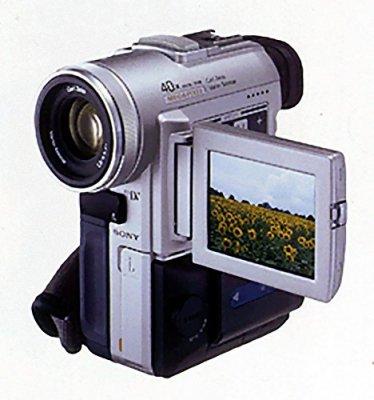 SONY DCR-PC100 デジタルビデオカメラレコーダー miniDVテープ ソニー ハンディカム【中古品】