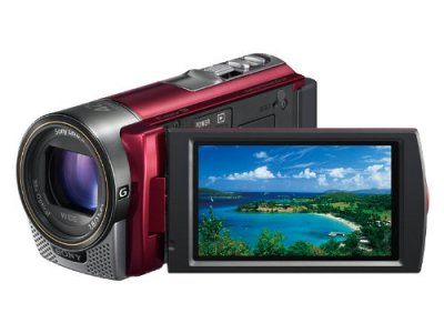 ソニー SONY デジタルHDビデオカメラレコーダー CX180 レッド HDR-CX180/R【中古品】