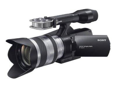 ソニー SONY レンズ交換式デジタルHDビデオカメラレコーダー VG10 NEX-VG10/B【中古品】