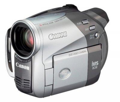 Canon DVD デジタルビデオカメラ iVIS (アイビス) DC50 IVISDC50【中古品】