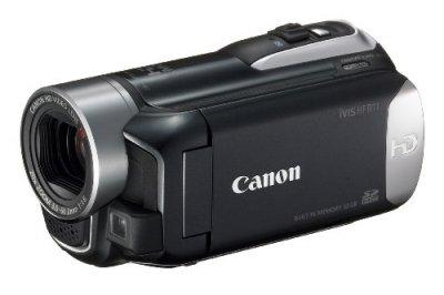 Canon デジタルビデオカメラ iVIS HF R11 ブラック IVISHFR11BK【中古品】