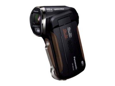 Panasonic デジタルムービーカメラ 防水&タフ設計 ブラック HX-WA30-K【中古品】