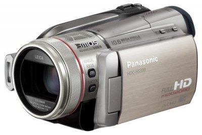 Panasonic デジタルハイビジョンビデオカメラ シルバー HDC-HS300-S【中古品】