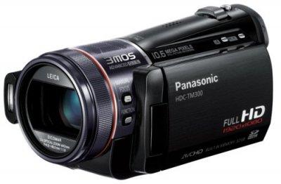 Panasonic デジタルハイビジョンビデオカメラ ブラック HDC-TM300-K【中古品】