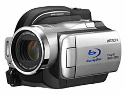 日立製作所 BD+HDDビデオカメラ『ブルーレイカム Wooo』 DZ-BD10H【中古品】