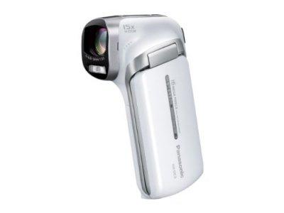 Panasonic デジタルムービーカメラ ホワイト HX-DC3-W【中古品】