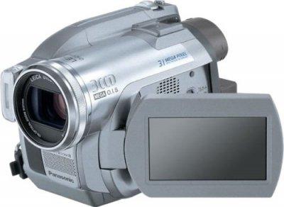 Panasonic DVDビデオカメラ VDR-D300-S【中古品】