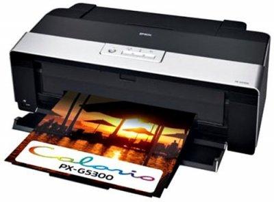 EPSON Colorio インクジェットプリンター PX-G5300 A3ノビ対応 8色高光沢顔料インク【中古品】