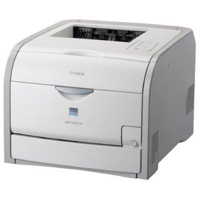 Canon レーザープリンタ Satera LBP7200CN A4カラー対応 A4カラー20ppm,A4モノクロ20ppm 給紙枚数標準300枚 自動両面印刷標準【中古品】