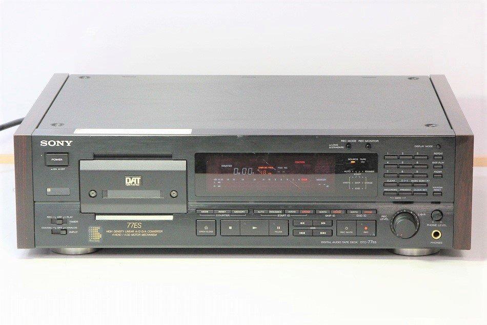 SONY DTC-77ES DATデッキ ブラック 【中...