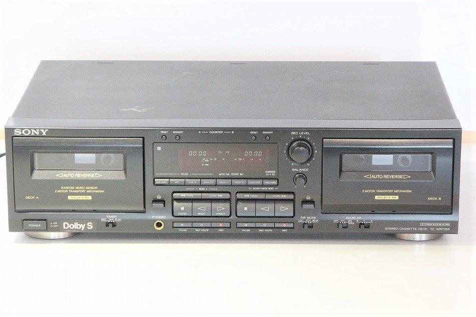 SONY TC-WR705S ツインリバースカセット...
