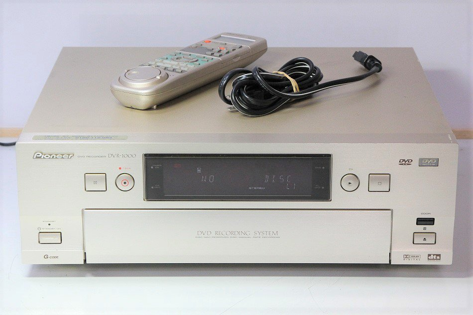 Pioneer  DVDレコーダー DVR-1000 【中古品】