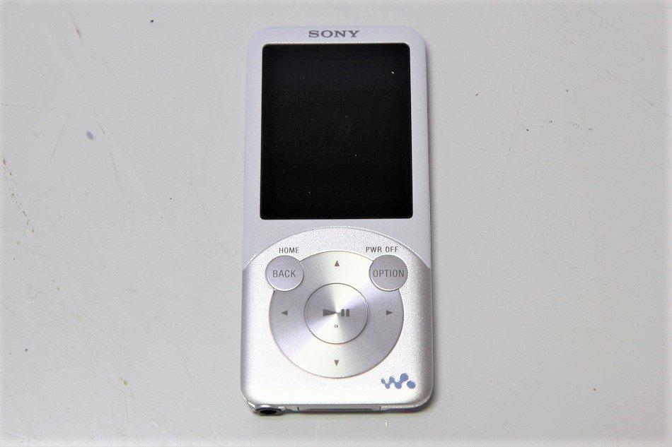 SONY ウォークマン Sシリーズ [メモリータイプ] 16GB ホワイト NW-S755/W 【!中古品!】