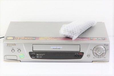 パナソニック Panasonic VHSビデオデッキ NV-HB330 【中古整備品】
