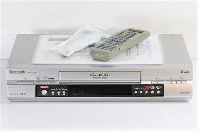Panasonic (パナソニック) Gコード付VHSハイファイビデオ NV-HX33G 【中古品】
