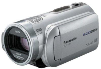 【N】パナソニック デジタルハイビジョンSDビデオカメラ 3CCD搭載シルバー HDC-SD3-S【中古品】