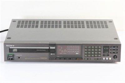 SONY  CDP-502ES ESシリーズ CDプレーヤー 1984年製 【中古整備品】