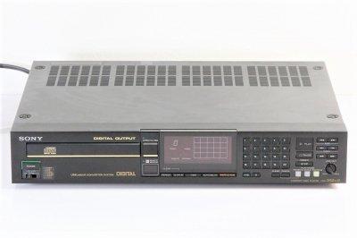 SONY  CDP-552ESD ESシリーズ CDプレーヤー 1985年製 【中古整備品】