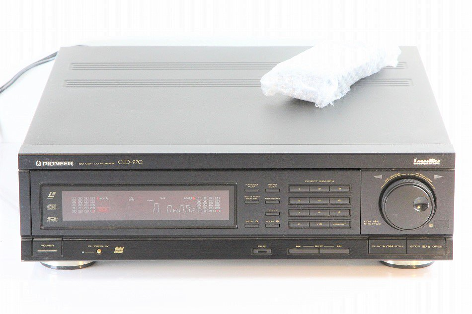 Pioneer パイオニア CLD-970 CD/LDプレーヤー 【中古整備品】