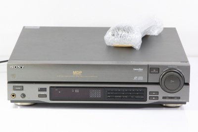 SONY CD/CDV/LDプレーヤー MDP-333 【中古整備品】