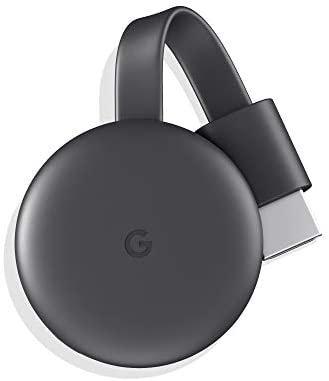 【N】Google Chromecast 第三世代 2K対応 チャコール GA00439-JP【中古品】