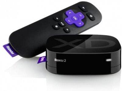 【N】Roku 2 XD Streaming Player 1080p【中古品】