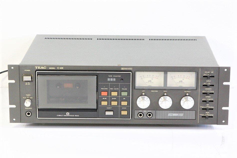 TEAC C-3X 3ヘッドカセットデッキ 【中古整備品】