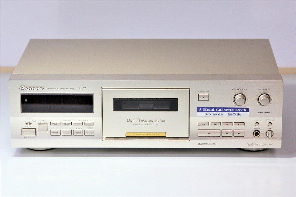 Pioneer シングルカセットデッキ T-D7