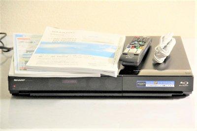 SHARP AQUOS ブルーレイディスクレコーダー HDD搭載 320GB BD-HDW43【中古品】