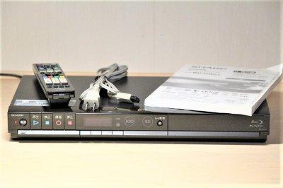 SHARP AQUOS ブルーレイディスクレコーダー 500GB かんたんシリーズ  BD-HW51 【中古品】