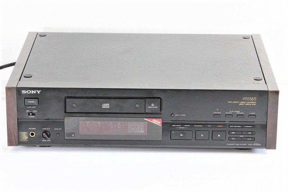 SONY ソニー CDP-X555ES ESシリーズ 【整備品】